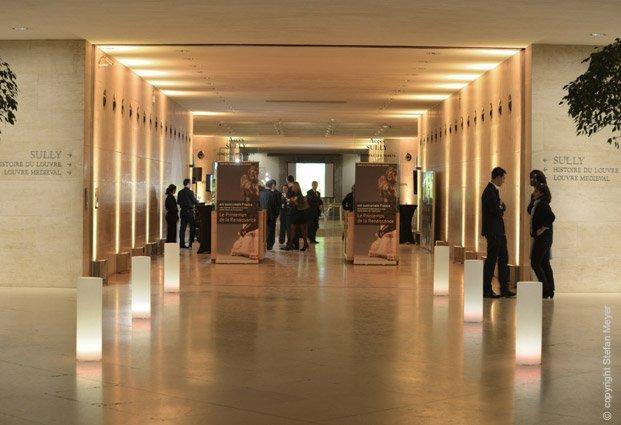 L 39 organisation d une soir e d entreprise au mus e du louvre for Louvre interieur