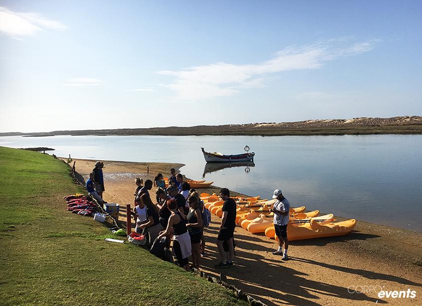 activite canoe portugal