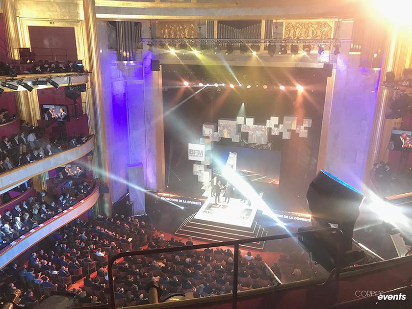 L'équipe InvitYou dans les tribunes des BFM Awards