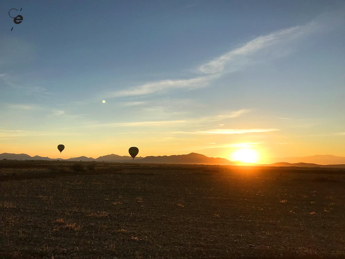 vol montgolfiere maroc