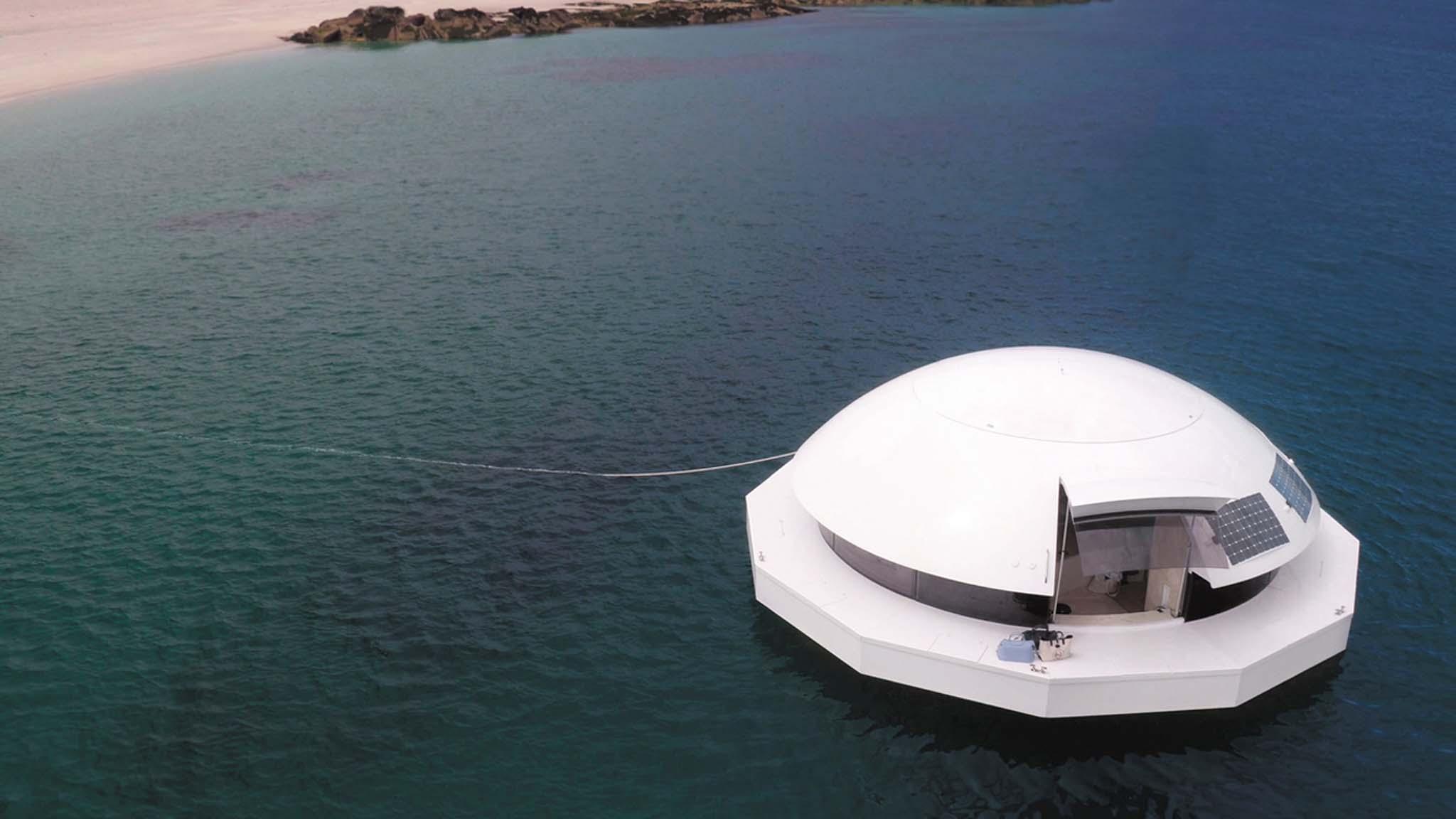 hôtel flottant
